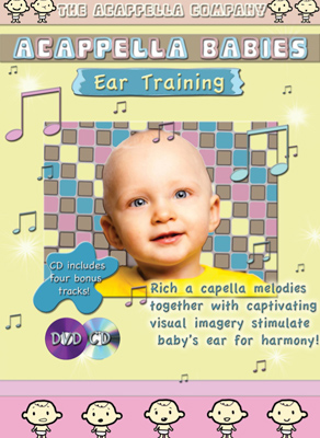 DVD211 -- Acappella Babies DVD/CD Set