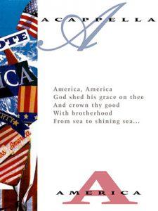 Acappella America songbook