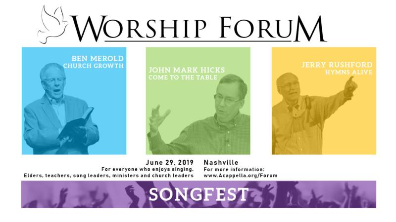 Worship Forum 2019